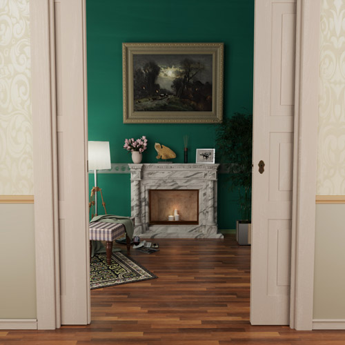 culture lab photorealistic 3d graphics interior design living room fireplace floor 01 500x500