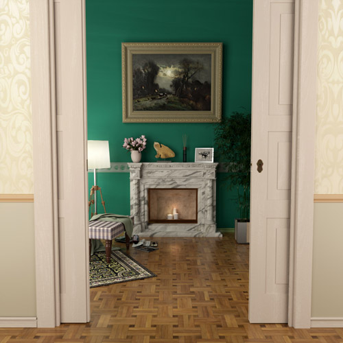 culture lab photorealistic 3d graphics interior design living room fireplace floor 02 500x500